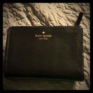 New with tags black Kate Spade wallet